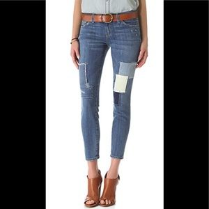 The Stiletto Patchwork Jeans